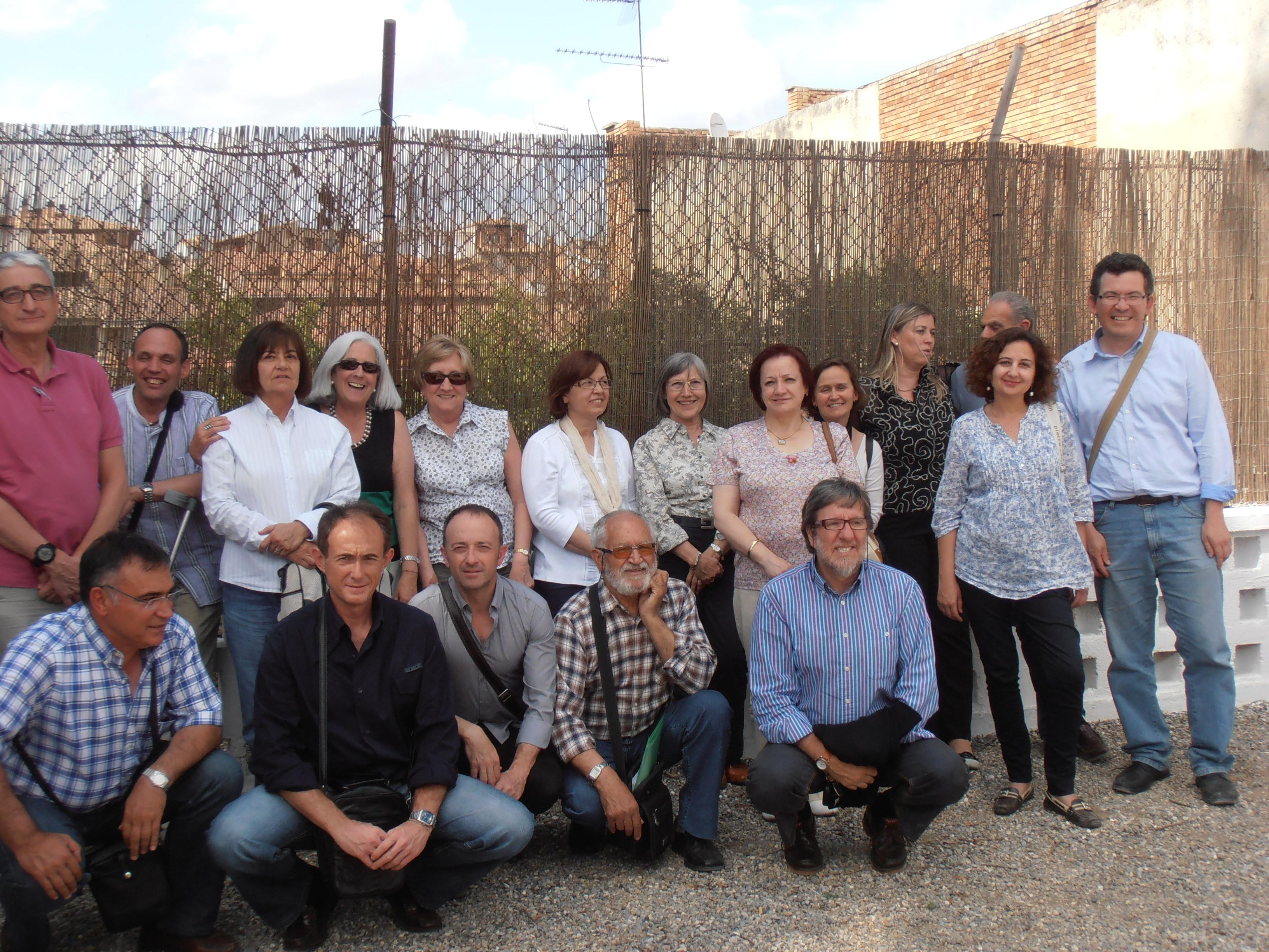 Encuentro de asociaciones de Huesca en Barbastro