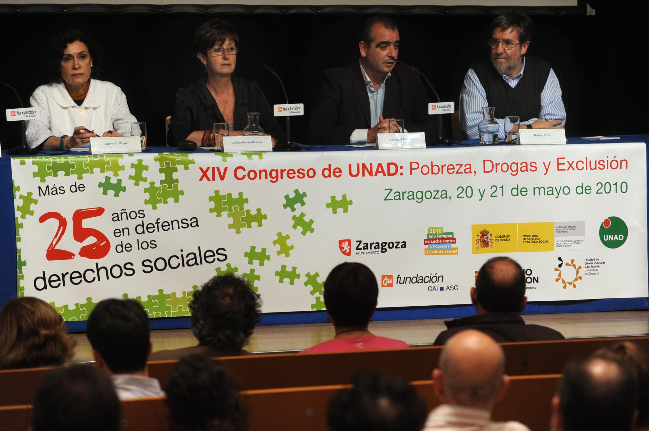 Congreso de Unad: Pobreza, Drogas y Exclusión.