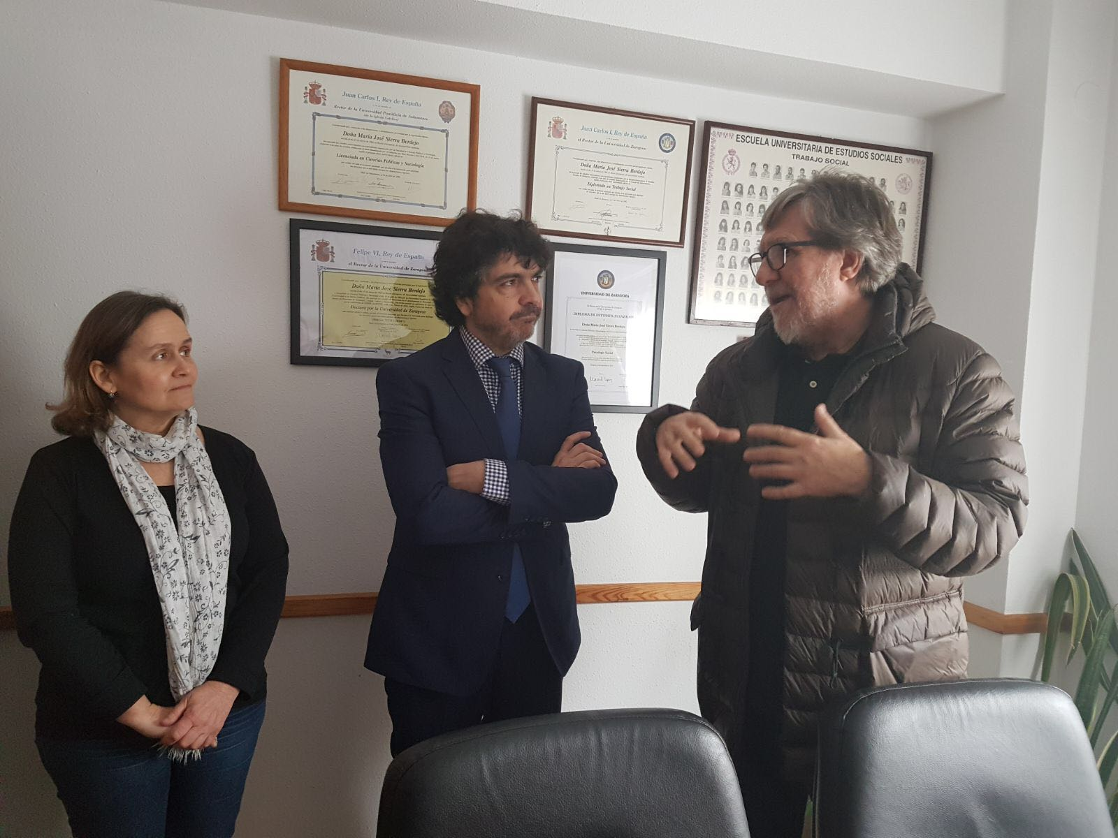 Visita del Secretario de Estado de Servicios Sociales e Igualdad. 16 de febrero 2018