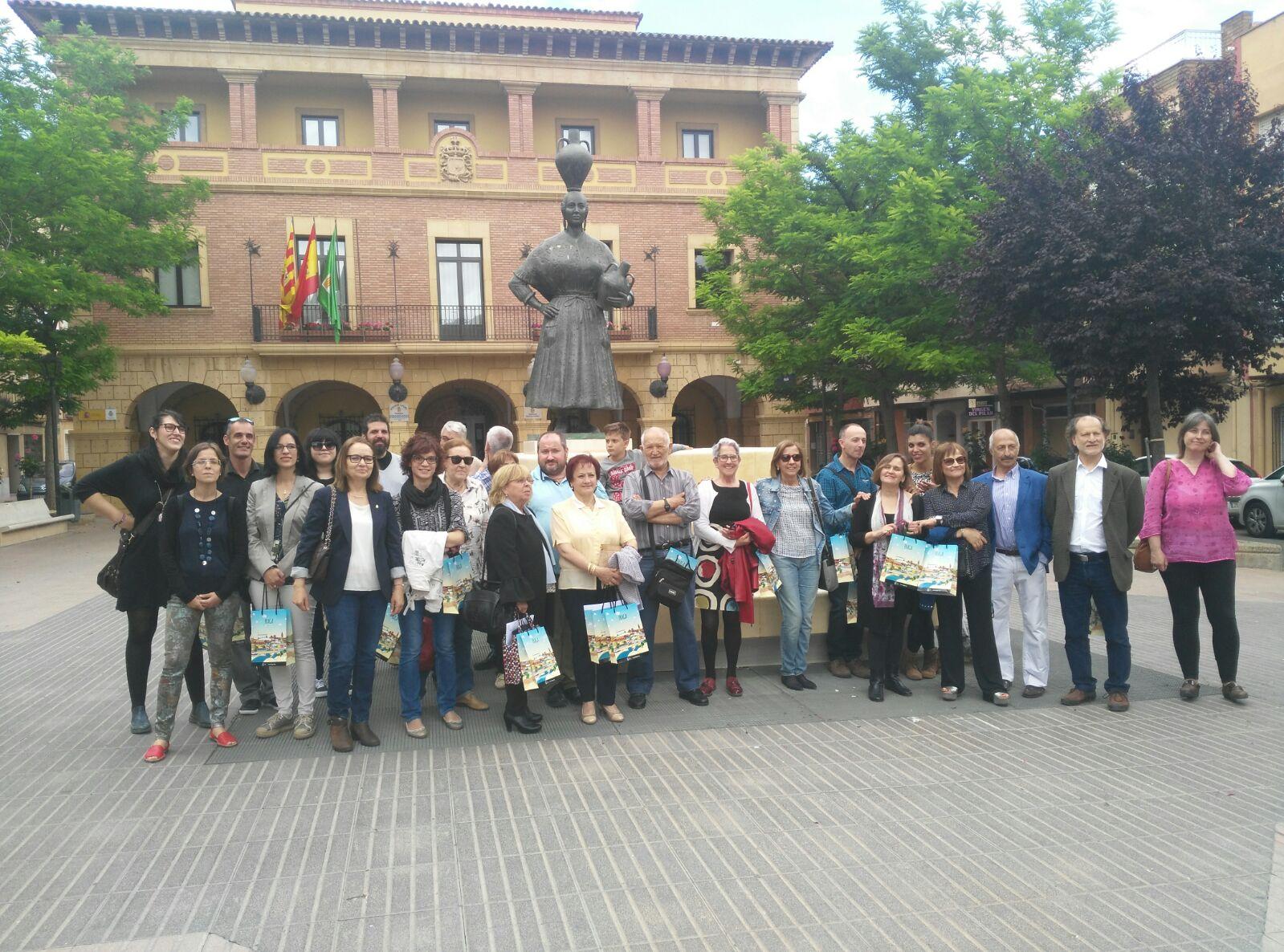 Coordinación de Entidades de Drogodependecias de la provincia de Huesca  en Fraga. mayo 2017.